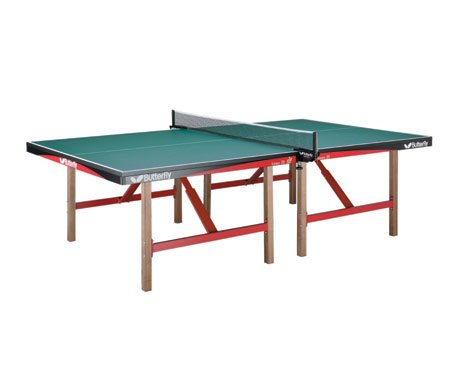 Butterfly Europa 25 Sky Stationary Table Tennis Ping Pong Green Discontinued