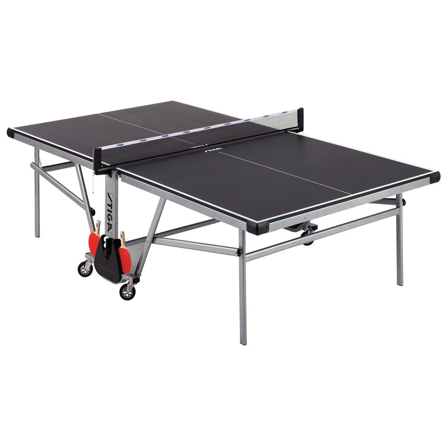 Stiga ultratec table tennis ping pong table t8551 for Table ping pong
