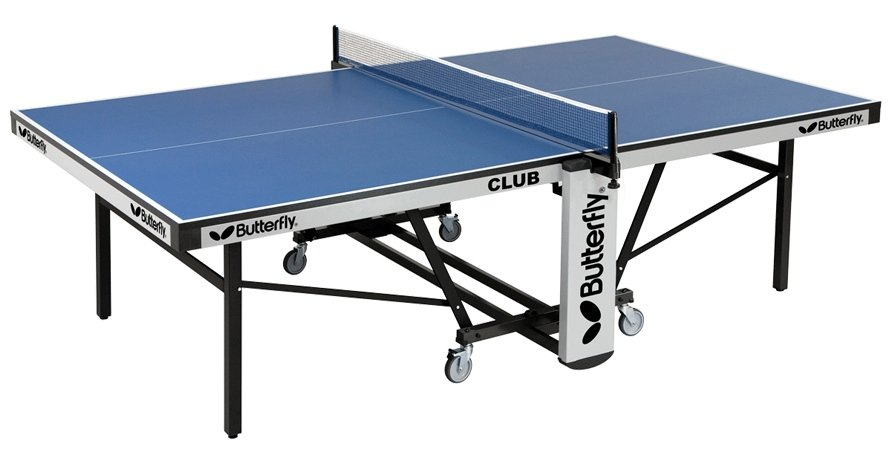 Butterfly Club 25 Rollaway Table Tennis Ping Pong Free Shipping