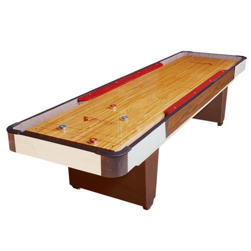 Bumper shuffleboard tables venture 12 foot classic for 12 foot shuffle board table