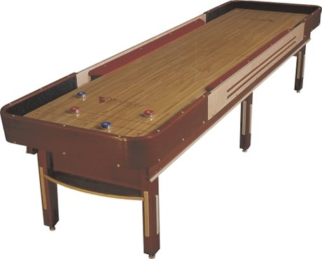 Bumper bank shot shuffleboard tables venture grand for 12 foot shuffle board table
