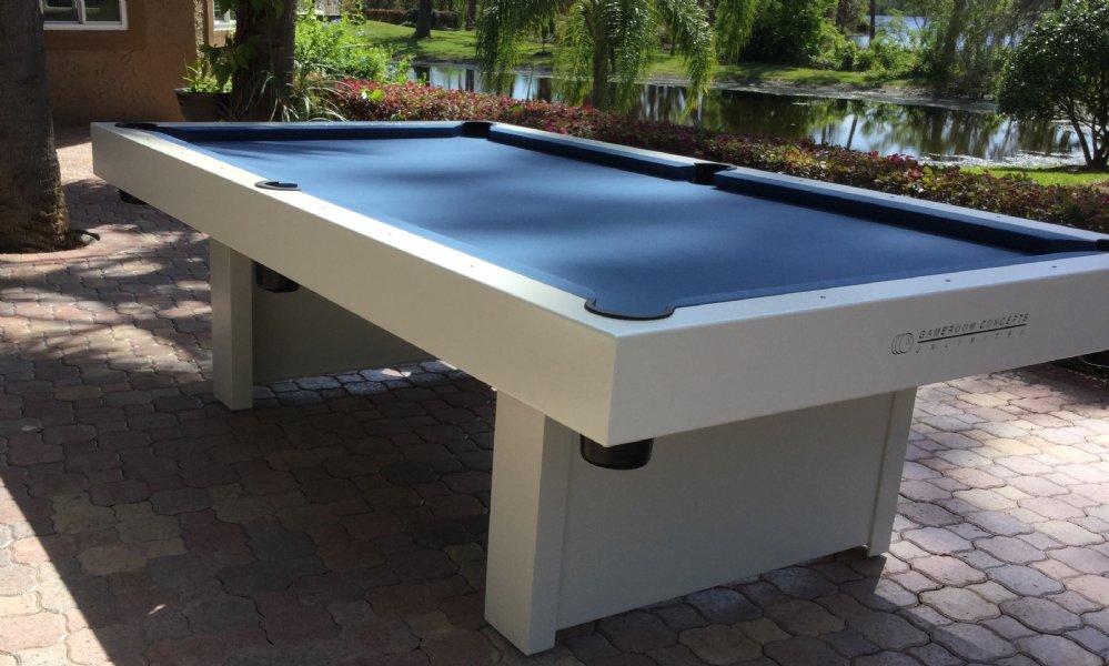 Gameroom Concepts 1000 Indoor Outdoor Pool Table