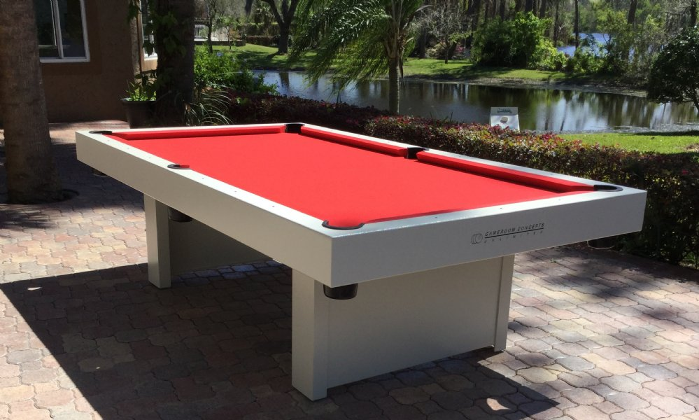 Room Concepts 1000 Series H2o All Weather Outdoor 8 Foot Pool Table