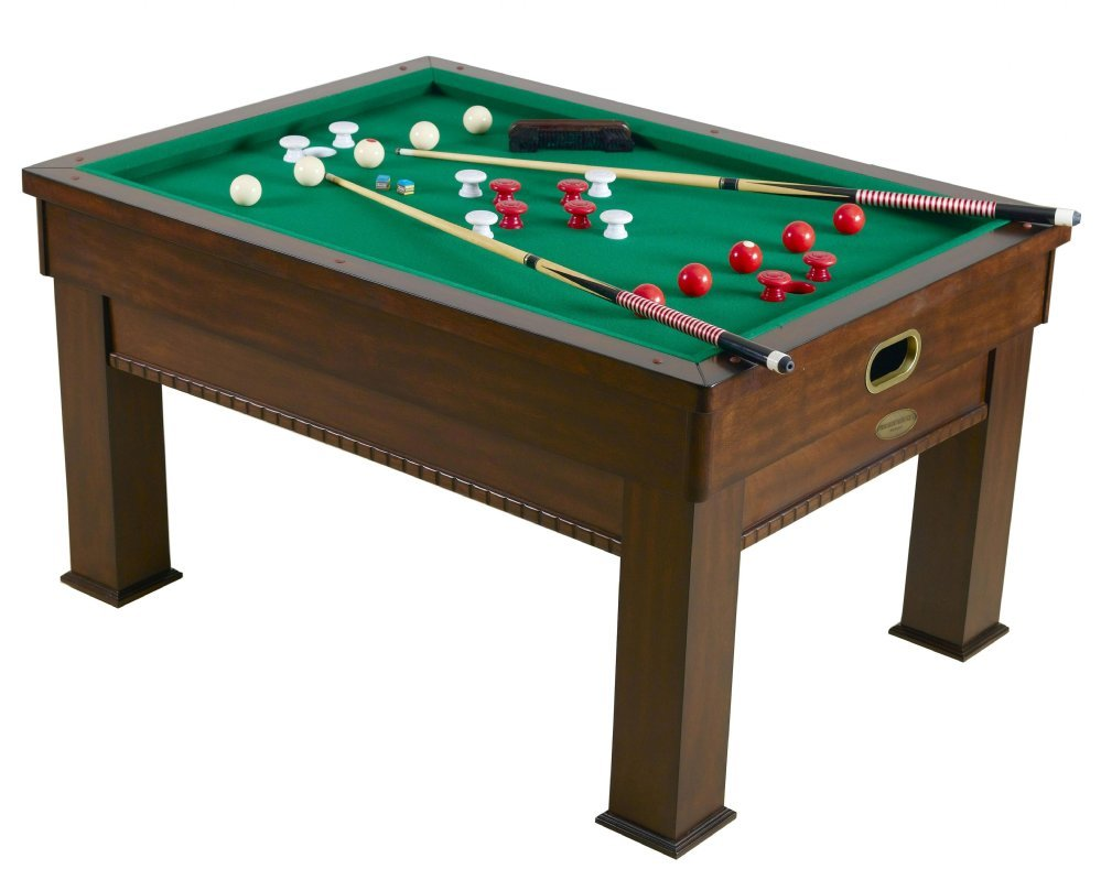 3 In 1 Rectangular Slate Per Pool Card Dining Table