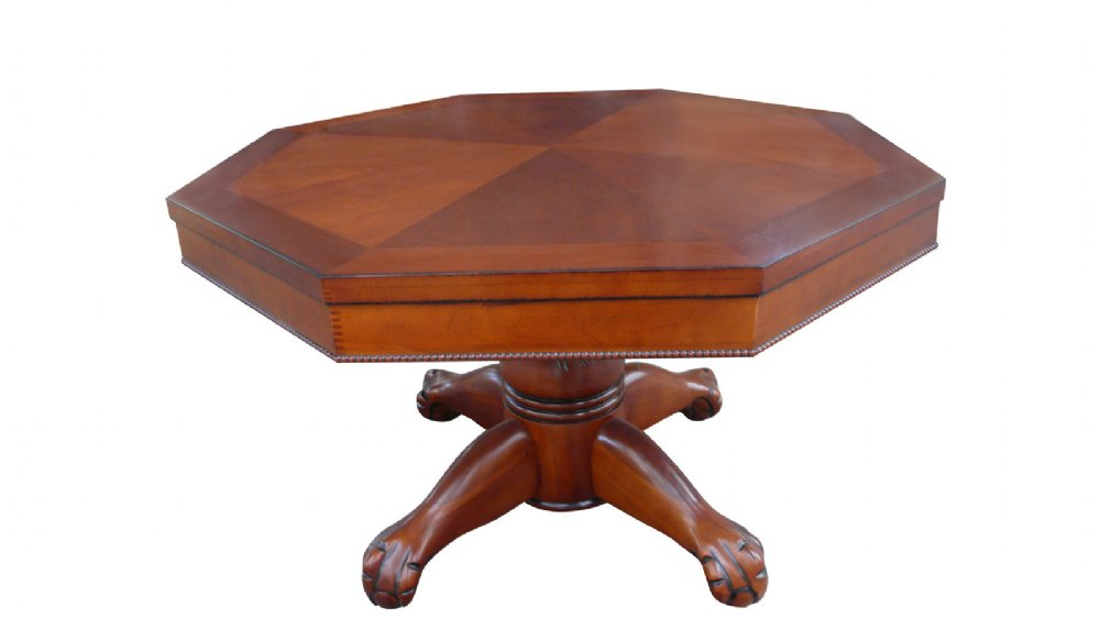 3 In 1 Game Table   Round 54 Bumper Pool, Poker U0026 Dining In Antique Walnut  By Berner Billiards