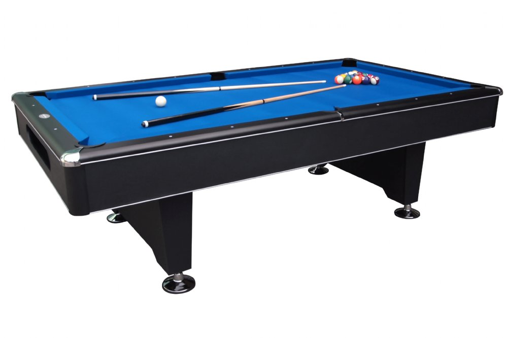 Superieur Berner Billiards 8 Foot Black Shadow Pool Table | Slate Pool Table |  Professional Pool Table
