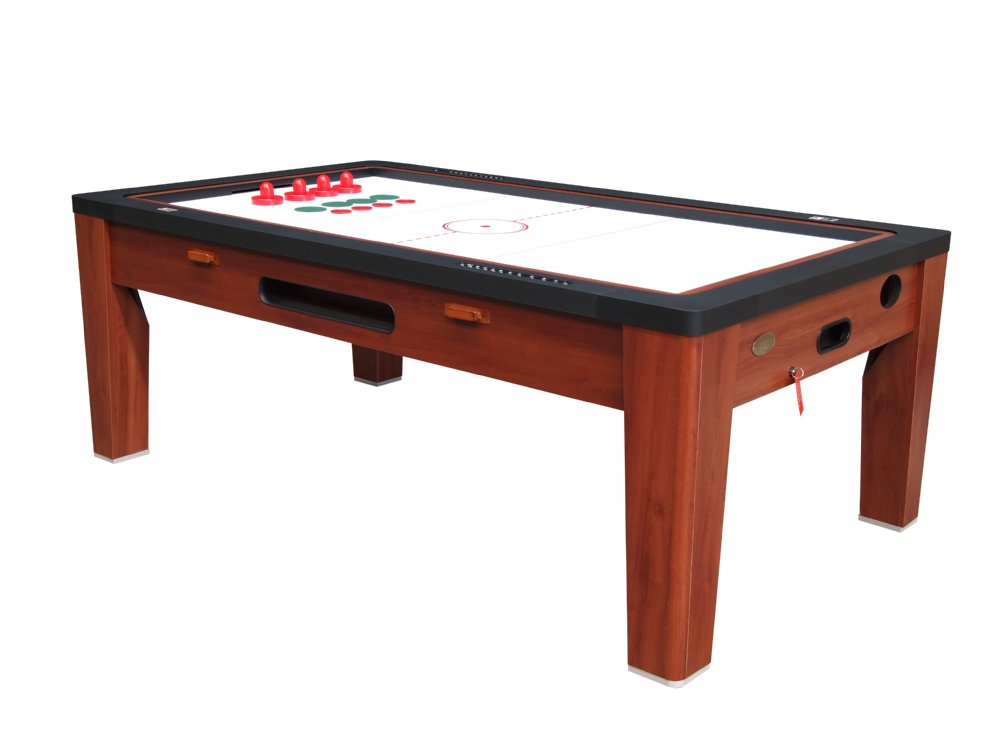 Ordinaire 6 In 1 Multi Game Table In Cherry By Berner Billiards U003cbru003eFREE SHIPPING