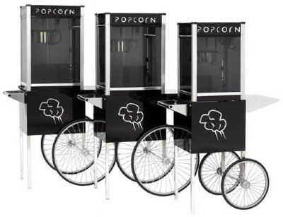 4 Oz Contempo Pop Popcorn Machine W Small Cart By Paragon
