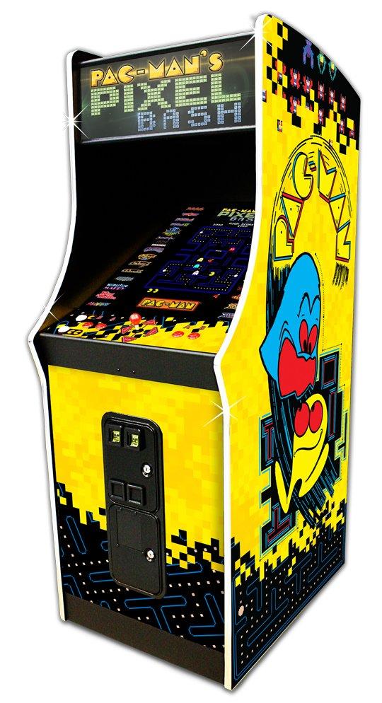 Namco Pac Man Pixel Bash Video Game Cabaret Cabinet Ms