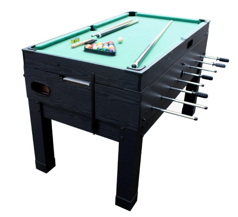 13 In 1 Combination Game Table In Black The Danbury Foosball