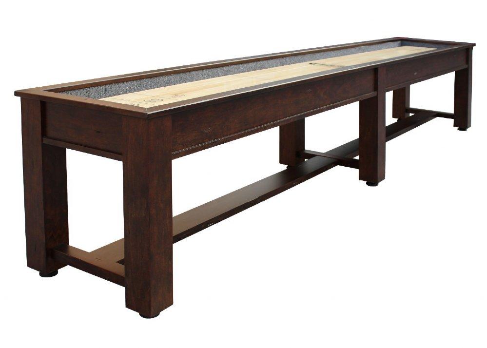 Berner Billiards Or Foot Shuffleboard Table The Rustic - 12 foot shuffleboard table for sale